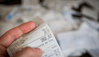 ticket con el IVA