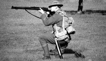 Soldado de la primera guerra mundial