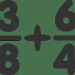 Suma y resta de fracciones (con problemas resueltos)