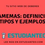Gramemas: Definición, Tipos y Ejemplos