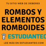Rombos y elementos romboides