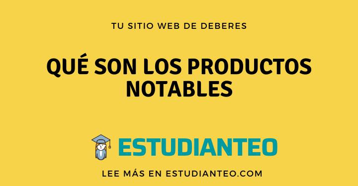 , Qué son los productos notables, tipos y ejemplos, Estudianteo