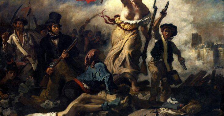 , Revolución de 1830, Estudianteo