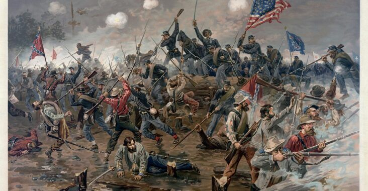 , Guerra Civil de los Estados Unidos (causas, inicio y fin), Estudianteo