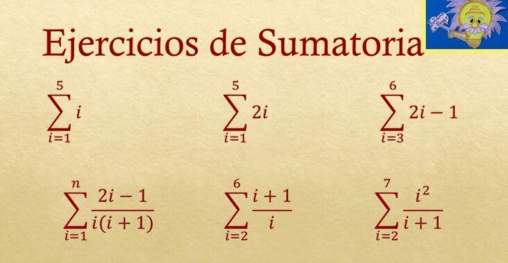 , Propiedades de la sumatoria, cómo se usa y ejemplos, Estudianteo