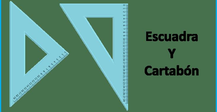 , Diferencia entre escuadra y cartabón (y qué son), Estudianteo