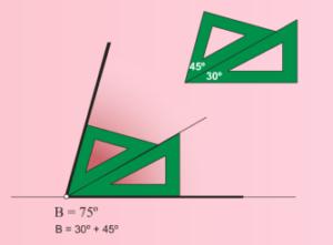 , Hacer ángulos con escuadra y cartabón (uso correcto), Estudianteo