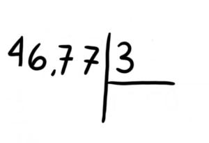 , Divisiones con números decimales, Estudianteo